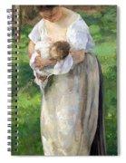 The Wet Nurse Spiral Notebook