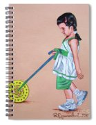 The Wheel - La Rueda Spiral Notebook