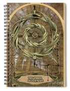 The Wheel Of Fortune Spiral Notebook