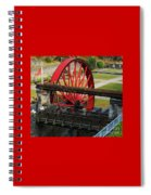 The Wheel Park, Laxey, Isle Of Man Spiral Notebook