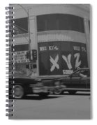 The Whiskey In Black And White Spiral Notebook