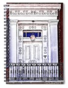 The White Balcony Spiral Notebook