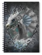 The White Dragon Spiral Notebook