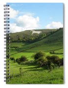 The White Horse Westbury England Spiral Notebook