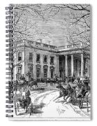 The White House, 1877 Spiral Notebook