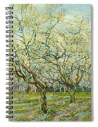 The White Orchard  Spiral Notebook