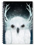 The White Owl Spiral Notebook
