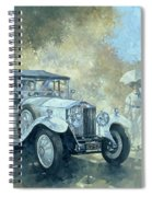 The White Tourer Spiral Notebook