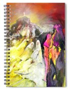 The White Wall Spiral Notebook