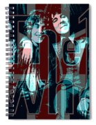 The Who Poster  Spiral Notebook