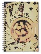 The Wild West Casino  Spiral Notebook