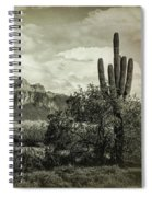 The Wild West Of The Superstitions  Spiral Notebook