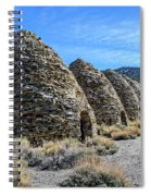 The Wildrose Charcoal Kilns Spiral Notebook