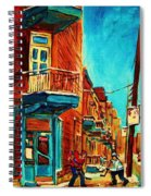 The Wilensky Doorway Spiral Notebook
