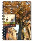 The William Pitt Shop Sign Spiral Notebook