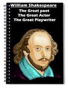 The William Shakespeare Spiral Notebook