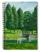 The Willow Path Spiral Notebook