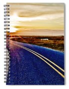 The Winding Road Spiral Notebook