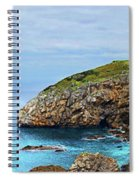 The Winding Staircase Medium Version Spiral Notebook