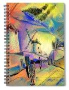 The Windmills Del Quixote 02 Spiral Notebook