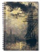 The Windmills In Rotterdam Spiral Notebook
