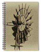 The Windmills Of My Mind Spiral Notebook