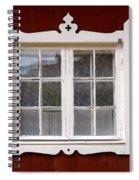 The Window 3 Spiral Notebook
