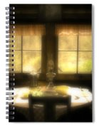 The Window At Breakfast Spiral Notebook