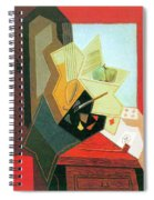 The Window Of The Painter  Spiral Notebook