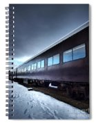The Windows Of The Train Spiral Notebook
