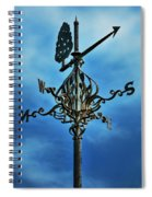 The Winds Of Time Spiral Notebook