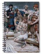 The Wine Mixed With Myrrh Spiral Notebook