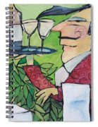 The Wine Steward Spiral Notebook