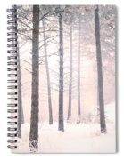 The Winter Forest Spiral Notebook