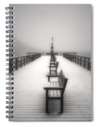 The Winter Pier Spiral Notebook