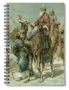 The Wise Men Seeking Jesus Spiral Notebook