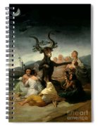 The Witches' Sabbath Spiral Notebook