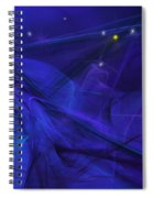 The Wizard Mid-incantation Spiral Notebook