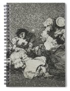 The Women Give Courage From The Series The Disasters Of War Spiral Notebook
