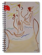 The Women Of Dublin Spiral Notebook