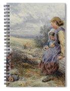 The Woodcutter's Children Spiral Notebook