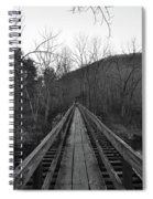 The Wooden Bridge Spiral Notebook