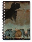 The Word Crow Spiral Notebook