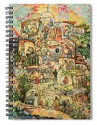 The Works Of Mercy Spiral Notebook