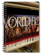 The World In The Library - Encyclopedias Spiral Notebook