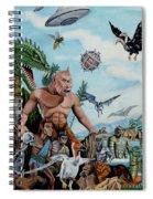 The World Of Ray Harryhausen Spiral Notebook
