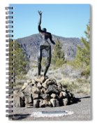 The Wounded Warrior Spiral Notebook