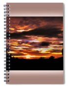 The Wow In A Sunset Spiral Notebook