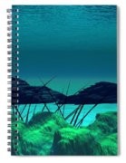 The Wreck Diving The Reef Series Spiral Notebook