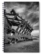 The Wreck Of The Peter Iredale Spiral Notebook